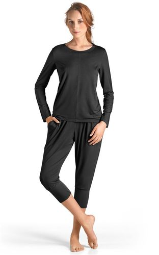 HANRO Yoga – Shirt Langarm - Art. 077996